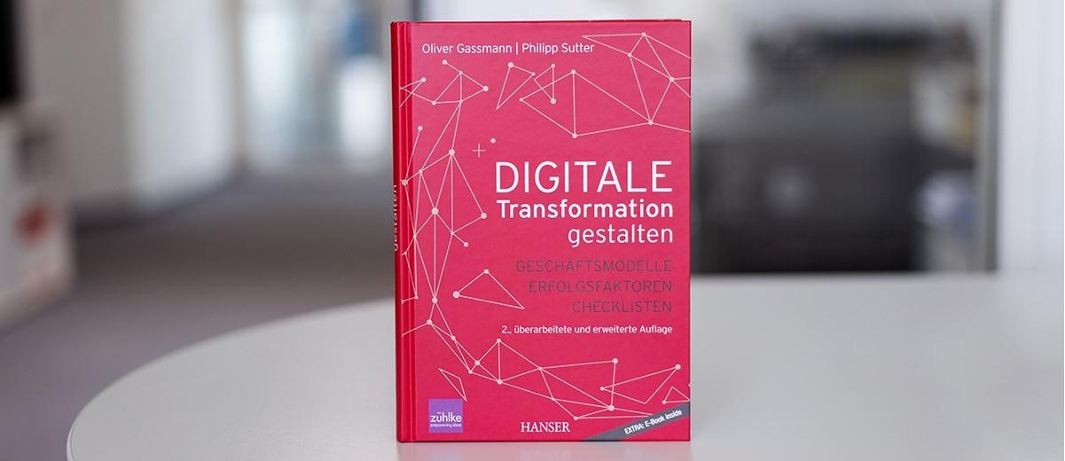 Buchcover: Digitale Transformation gestalten